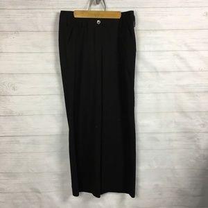 Sharagano Studio (F1-08) Sz 10 Black Career Pants